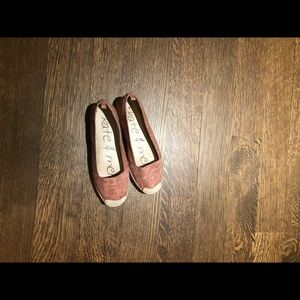 Ladies Kate and Mel slip on shoes